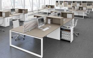 aménagement moderne de bureaux opératifs