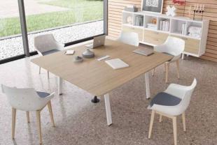 mobilier en bois moderne pour entreprise et réunions