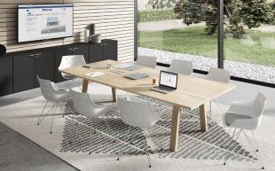 espace réunion design d'inspiration industriel