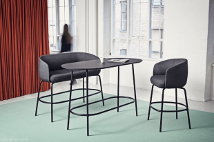 banquettes hautes de bar design double ou simple