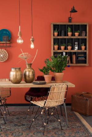 mobilier chaise et luminaire inspiration chic vintage