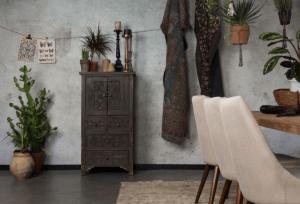 pièce d'ambiance et décoration industriel vintage