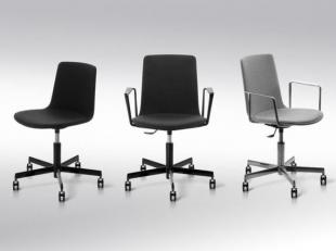 siège de travail classique et fonctionnel noir ou gris