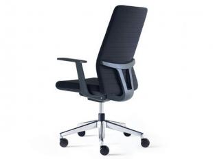 chaise de bureau ergonomique et confortable noire