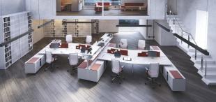 aménagement design et ergonomique d'un open space