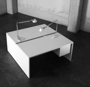 bureau classique modulable pour open space