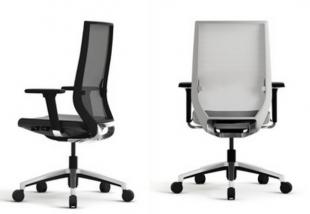 siège de travail classique et ergonomique noir ou blanc