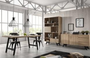 mobilier et luminaire en métal style industriel chic