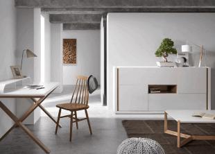 mobilier en bois blanc épuré ambiance scandinave