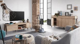 mobilier d'habitat et luminaire style scandinave