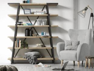 fauteuil et rangements inspiration scandinave
