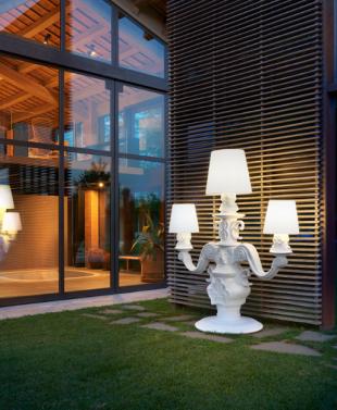 luminaire chandelier géant style romantique