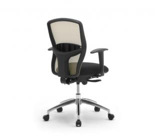 chaise de bureau classique noir avec roulettes