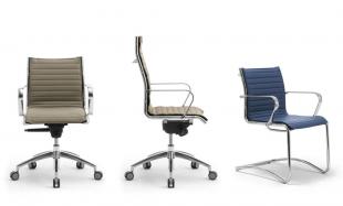 siège de travail ergonomique et design coloré