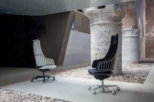 sièges de travail design original noir ou blanc