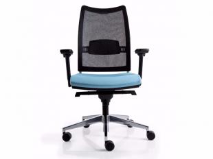 siège de travail ergonomique coloré