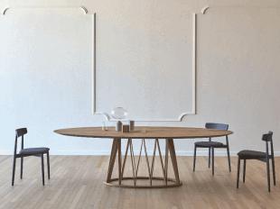 table en bois design original style scandinave