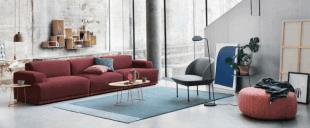 mobilier d'inspiration scandinave canapé et fauteuils