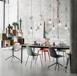 mobilier et luminaire d'inspirations scandinave
