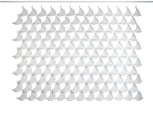 séparateur d'espace design forme membrane pour entreprise