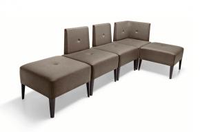 banquettes modulables design moderne et sobre