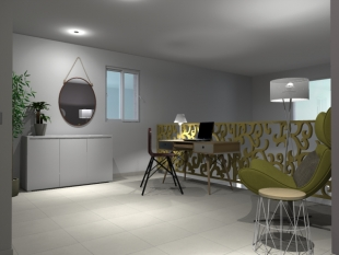aménagement et décoration espace bureau design