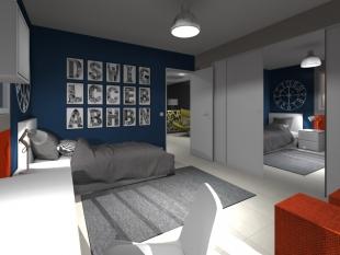 décoration chambre d'adolescent moderne