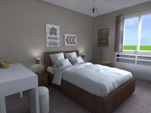 décoration chambre luminaire design et moderne