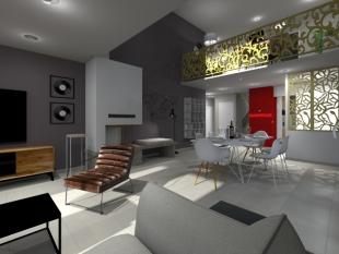 mobilier et décoration design et moderne blanc et rouge