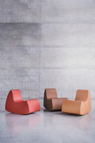 banquettes design colorées pour espace détente