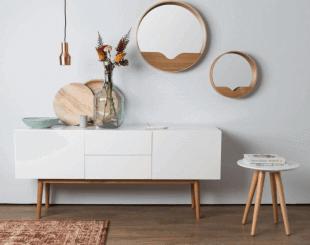 mobilier en bois blanc inspiration scandinave