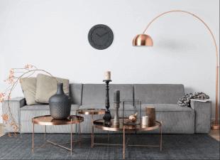 luminaire table et décorations de style scandinave