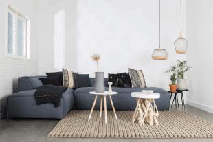 mobilier et luminaire en bois d'inspiration scandinave