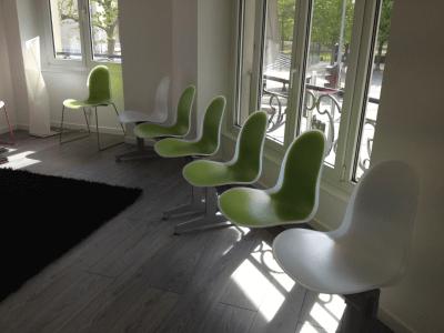 aménagement salle d'attente de cabinet médical