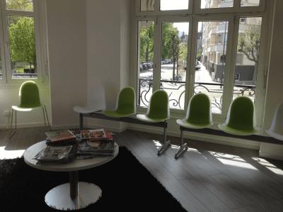aménagement pour professionnel salle d'attente design