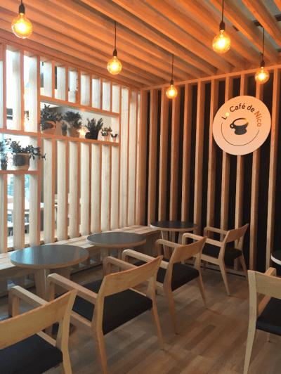 décoration de pizzeria luminaires et mobilier design