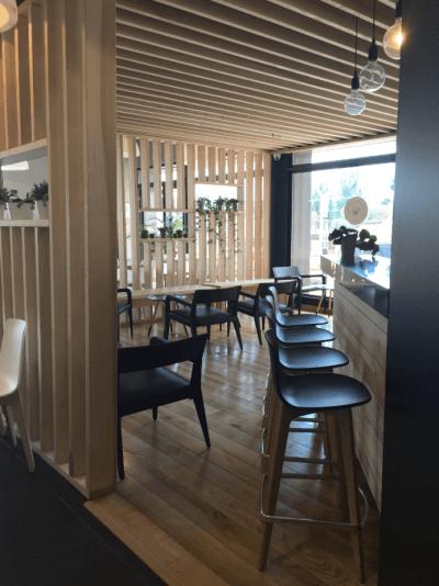 décoration de pizzeria tabourets de bar design