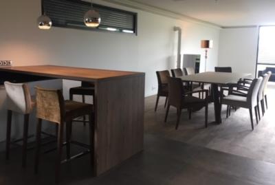 Espace bar et séjour (Habitat)